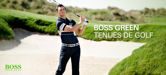 Boss Green : tenue de golf by Boss