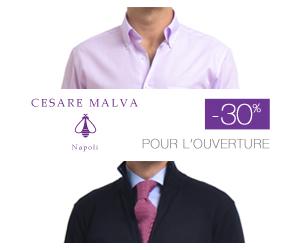 Chemise homme : Cesare Malva