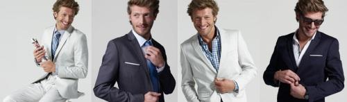 4 façons de porter un costume