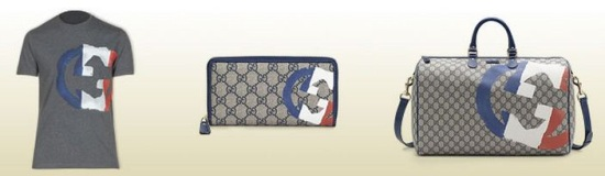 Gucci sort une collection flag !