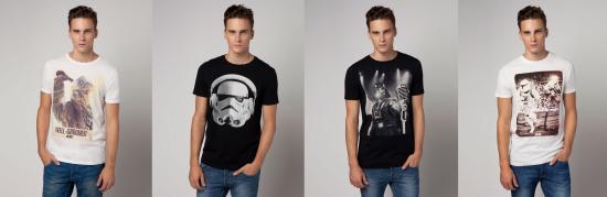 Les T-shirts de geeks Bershka v2