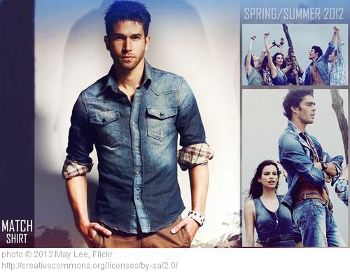 Tendance été 2013 : la chemise en jeans