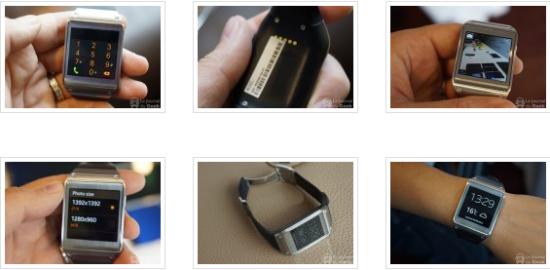 Samsung Gears montre connectée