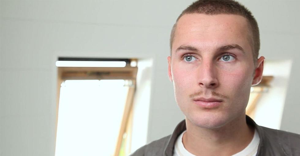 moustache clark gable