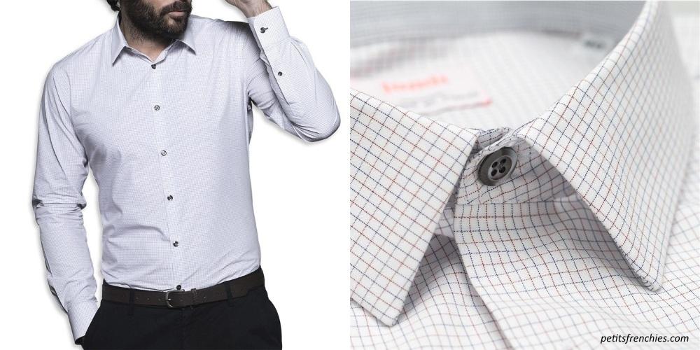 chemise a carreaux business