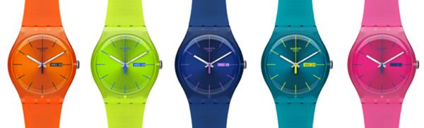 La montre homme sort ses couleurs