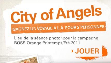 Avec BOSS Orange, gagnez un voyage à Los Angeles !