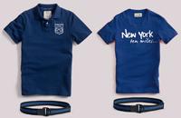 Polo et Tshirt bleus Jules