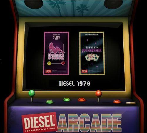 Jeu diesel arcade