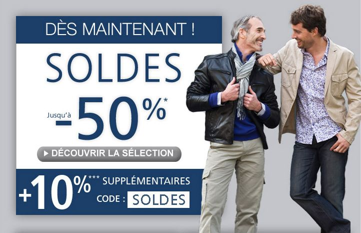 Father and sons soldes