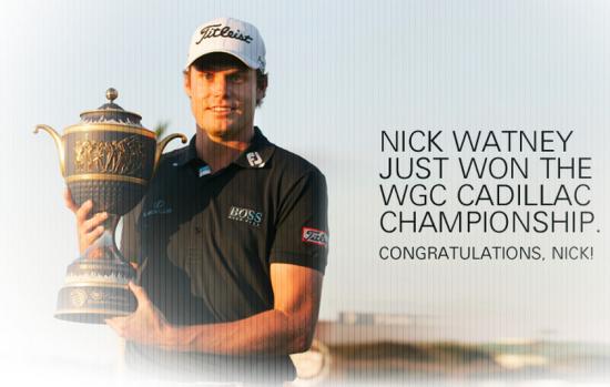 Champion golf boss