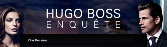 Hugo Boss : Votre avis les intéresse pour 15€ !