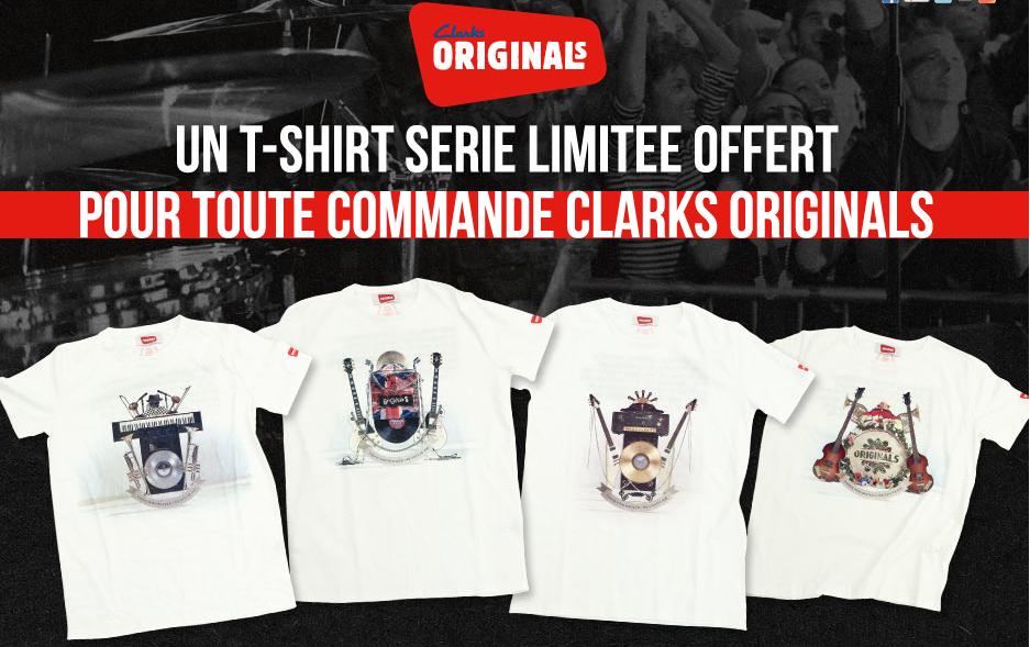 Clarks – T-shirt rock
