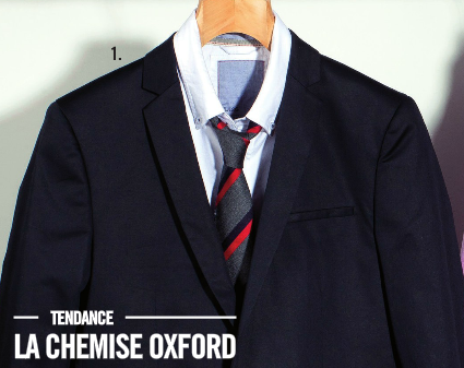 chemise-oxford