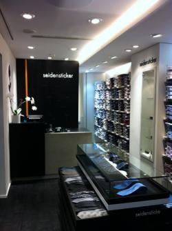 Intérieure de la boutique Seidensticker Strasbourg