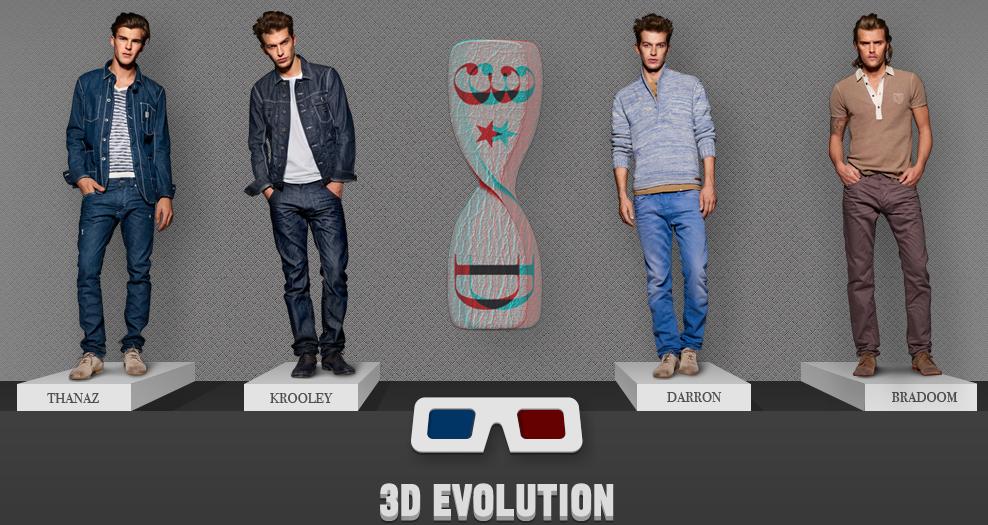 Jeans Diesel 3D