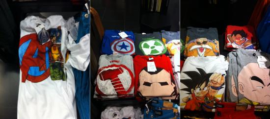 T-shirt de geek chez Bershka !