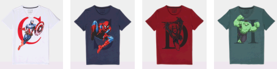 t-shirt-marvel-celio