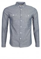 chemise bleu collection zalondo col boutonnée