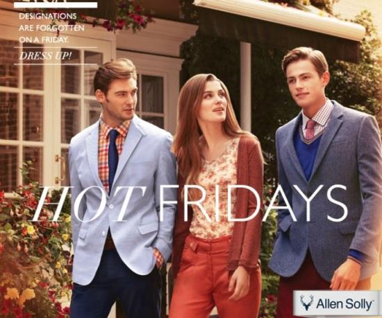 Chemise Allen Solly : découvrez le Hot Friday !