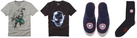 Collection Marvel chez Celio