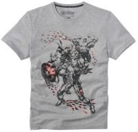 T Shirt Avangers Gris Chiné