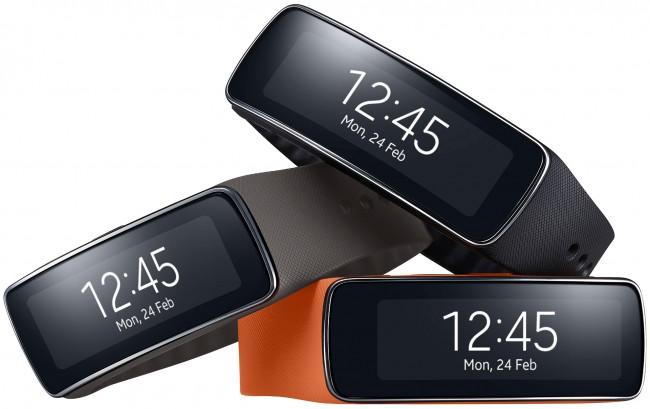 Samsung Gear 2 avec écran OLED incurvé