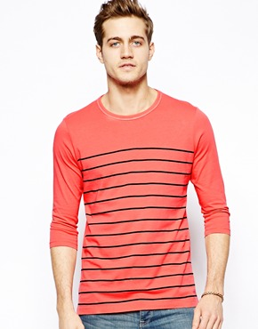 T-shirt nautique rouge