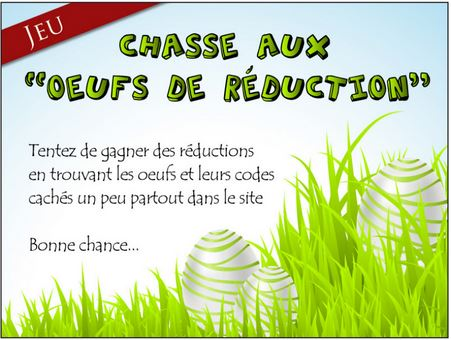 Chasse aux oeufs !