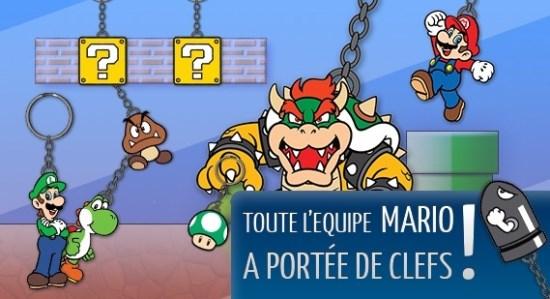 Porte clé Mario Bros