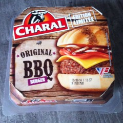 Test du hamburger micronondable Charal BBQ