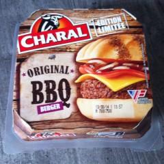 Test du hamburger micronondable Charal BBQ