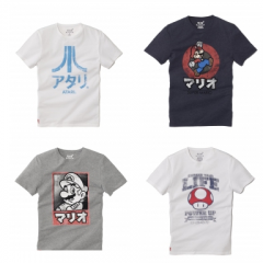 T-shirt retrogaming : Mario, Sonic, Atari