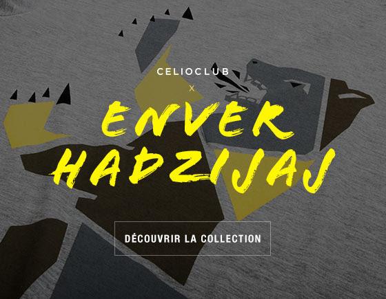 Collaboration Celio Club Enver