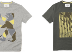 T-shirts Celio en collaboration avec Enver Hadzijaj