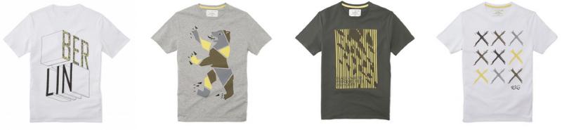 t-shirt celio enver