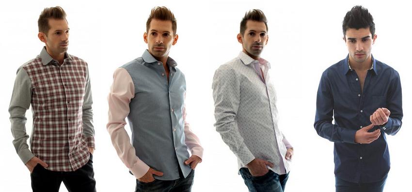 Quelques chemise de la Chemise Française