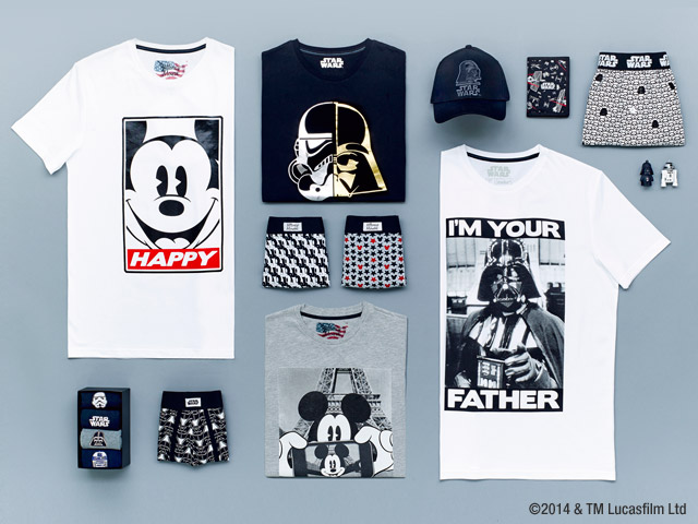Collection Star Wars + Mickey chez Celio - Noel 2014