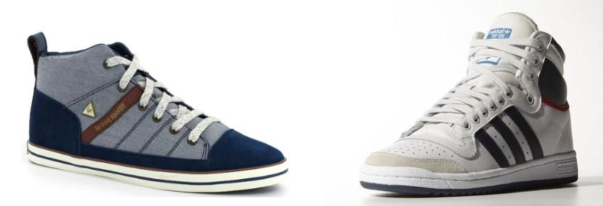 Sneackers Montantes - Coq Spotif et Adidas