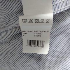 Comment lire l'étiquette d'une chemise ?
